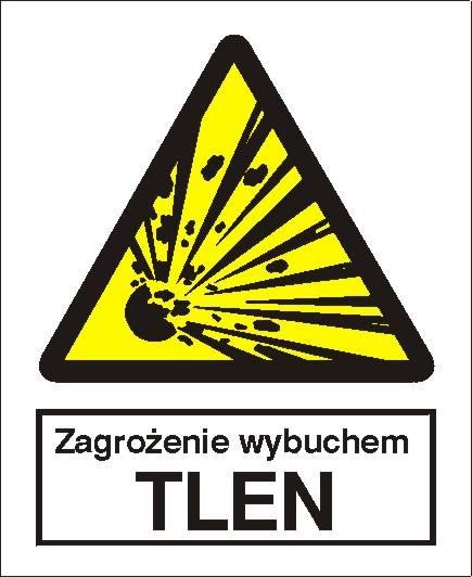 [216-01] - Zagrożenie wybuchem - Tlen