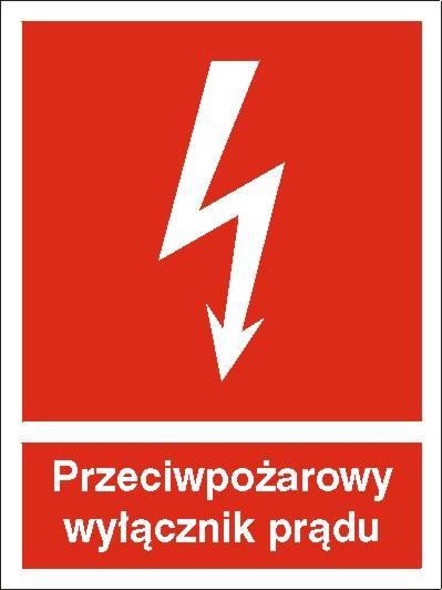 [219] - Przeciwpożarowy wyłącznik prądu