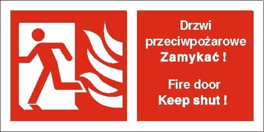 [217-02] - Drzwi przeciwpożarowe. Zamykać!