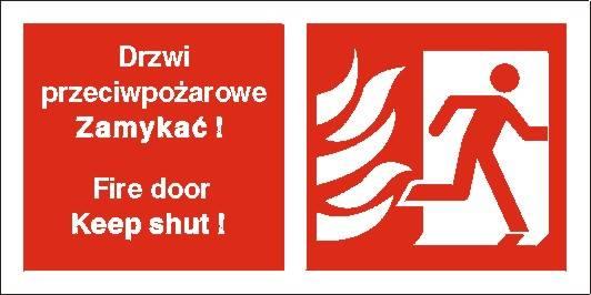 [217-20] - Drzwi przeciwpożarowe. Zamykać!