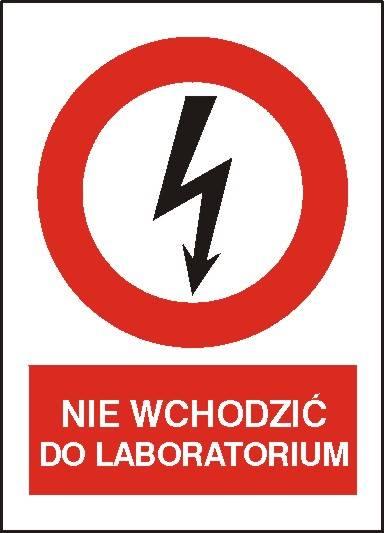 [630-08] - Nie wchodzić do laboratorium