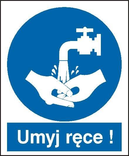 [411] - Nakaz umycia rąk