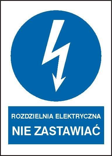 [430-17] - Rozdzielnia elektryczna Nie zastawiać