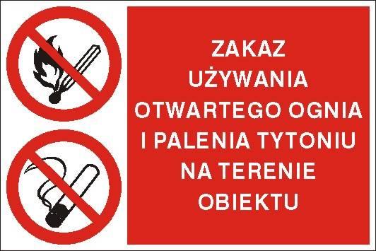 [209-09] - Zakaz używania otwartego ognia i paleni
