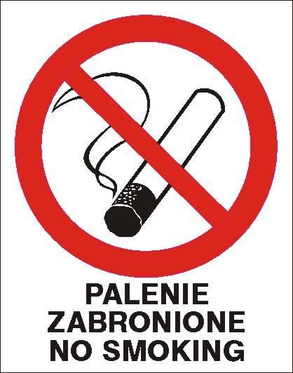 [209-12] - Palenie zabronione No smoking