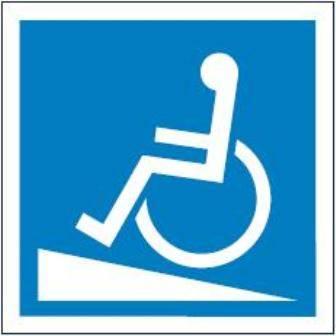 [820-04] - Podjazd dla wózków inwalidzkich