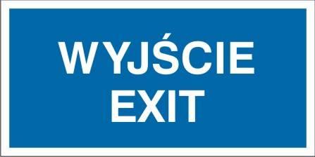 [816-10] - Wyjście Exit