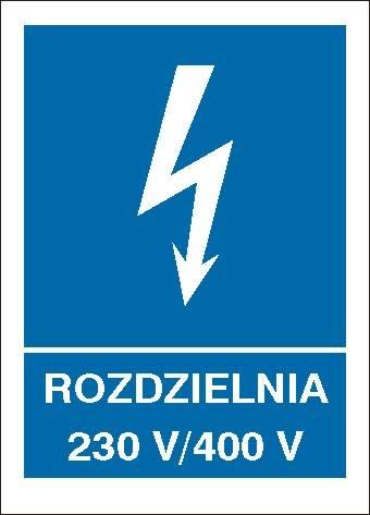 [530-25b] - Rozdzielnia 230 V/ 400 V