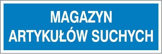[801-118] - Magazyn artykułów suchych