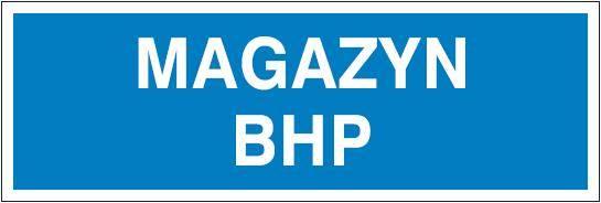 [801-117] - Magazyn BHP