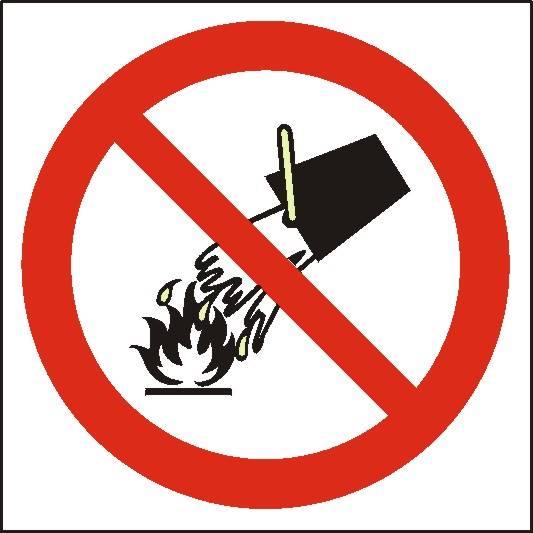 [212] - Zakaz gaszenia wodą