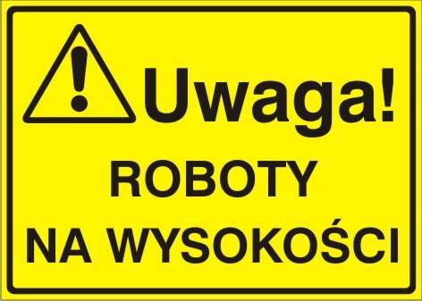 [319-08] - Uwaga! Roboty na wysokości