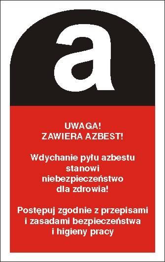 [700-13] - Uwaga! Zawiera azbest