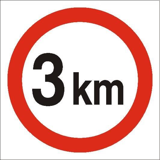 [702-06]Ograniczenie prędkości do 3 km