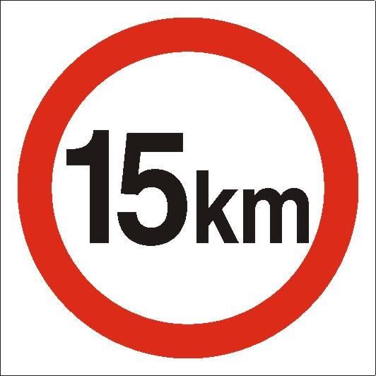 [702-04 ]-Ograniczenie prędkości do 15 km