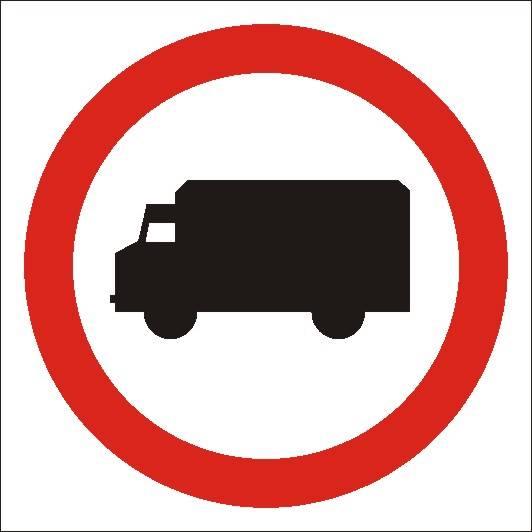 [702-12] -Zakaz wjazdu samochodów ciężarowych