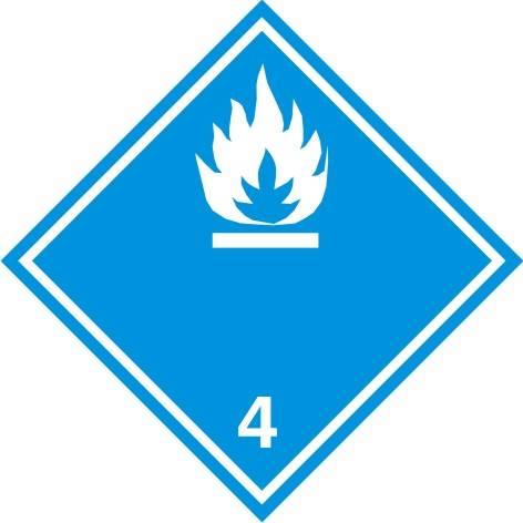 [215-12] -W zetknięciu z wodą wytwarza gazy palne