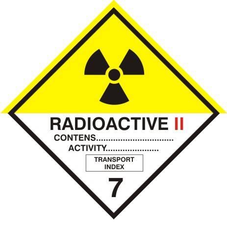 [215-17a]-Materiały promieniotwórcze, kategoria II