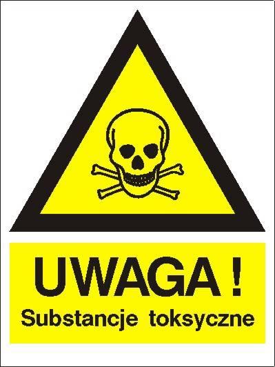 [800-94] - Ostrzeżenie przed sub. toksycznymi