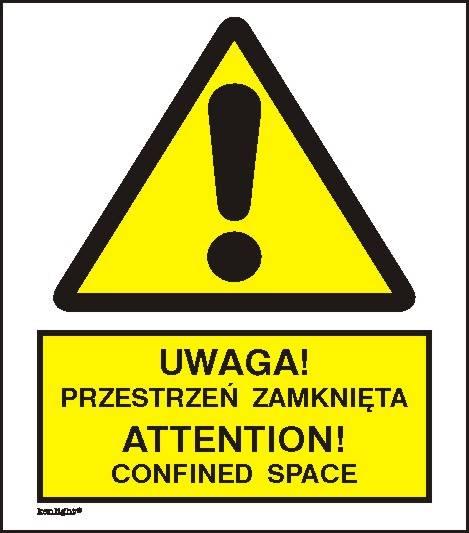 [301-13] - Uwaga! Przestrzeń zamknięta.