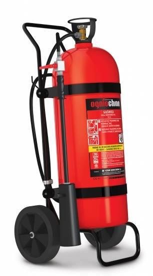 Gaśnica przewoźna CO2 - 50kg AS-50 B/E