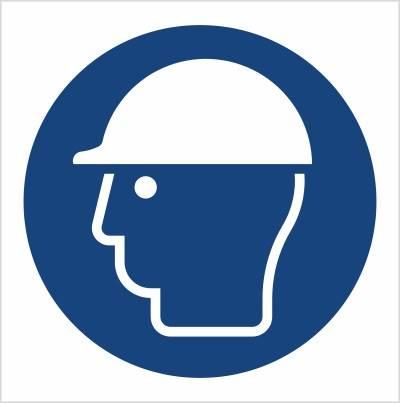 [M14] - Nakaz stosowania ochrony głowy