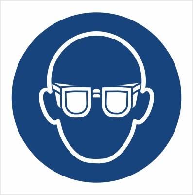 [M04] - Nakaz stosowania ochrony oczu