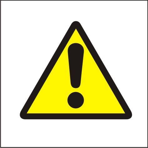 [301] - Ogólny znak ostrzegawczy