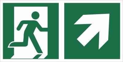 [E02-PG] - Wyjście ewakuacyjne w górę w prawo