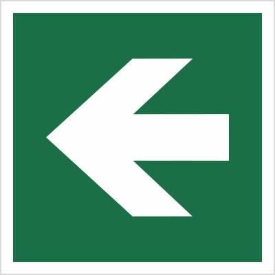 [E00-01] - Kierunek drogi ewakuacyjnej