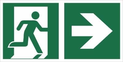 [E02-PP] - Wyjście ewakuacyjne w prawo