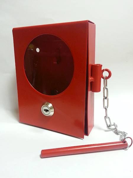 Skrzyneczka na kluczyk ze zbijakiem