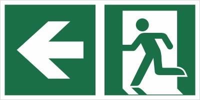 [E01-LL] - Wyjście ewakuacyjne w lewo