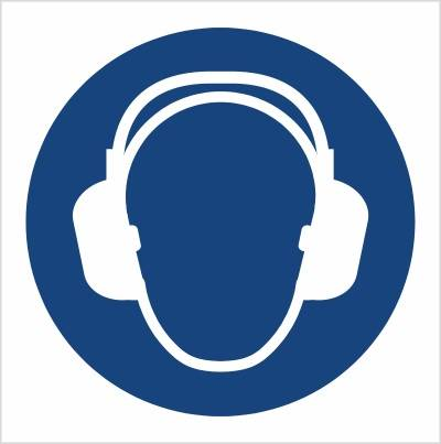 [M03]  - Nakaz stosowania ochrony słuchu