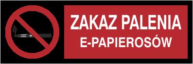 [209-15] - Zakaz palenia e-papierosów