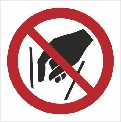[P15] - Zakaz wkładania rąk do środka