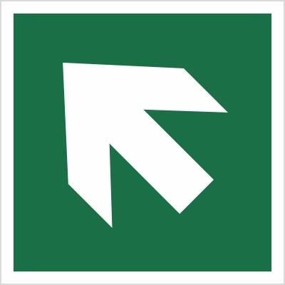 [E00-02] - Kierunek drogi ewakuacyjnej