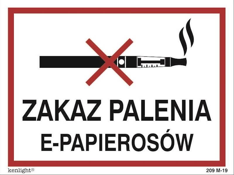 [209-19] - Zakaz palenia e-papierosów