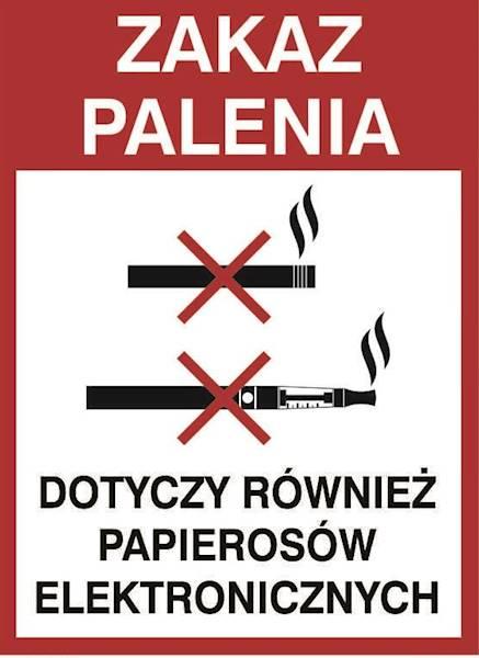 [209-21] - Zakaz palenia e-papierosów