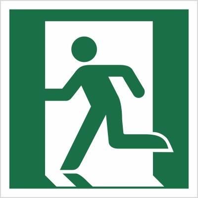 [E01] - Wyjście ewakuacyjne (lewostronne)