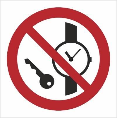 [P08] - Zakaz wstępu z przedmiotami metalowymi i z
