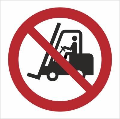 [P06] - Zakaz ruchu urządzeń - transport poziomy