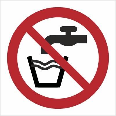 [P05] - Zakaz picia wody