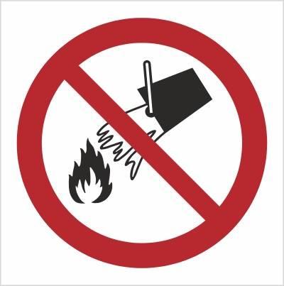 [P11] - Zakaz gaszenia wodą