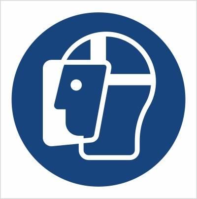 [M13] - Nakaz stosowania ochrony twarzy