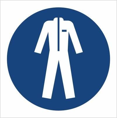 [M10] - Nakaz stosowania odzieży ochronnej
