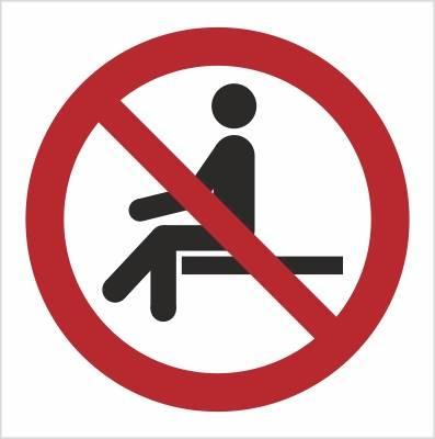 [P18] - Zakaz siadania