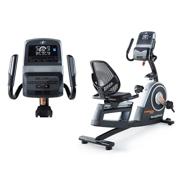 Rower Poziomy Programowany NordicTrack Commercial