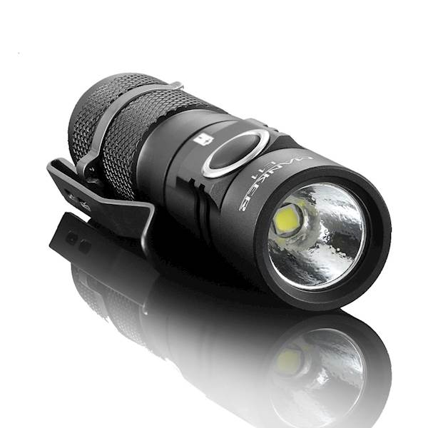 MANKER E11 800 lumenów Cree XP-L LED Cool White BUNDLE