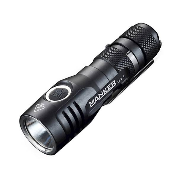 Manker U11 1050 lumenów Cree XPL V5 LED Cool White BUNDLE